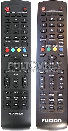 STV-LC3277FL , FUSION Y-72C, Y-72C1 пульт для телевизора SUPRA и FUSION