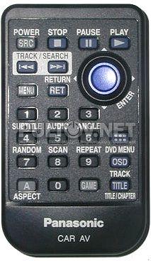 YEFX9995601 пульт для автомобильного монитора Panasonic CY-VHD9401N и др.