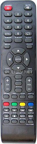 YX-CY309E пульт для телевизора Rubin RB-19SE5T2C и др.