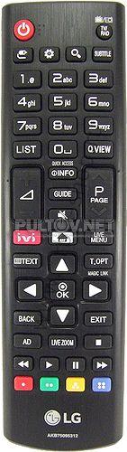 AKB75095312 оригинальный пульт для телевизора LG 24LJ480U и др.