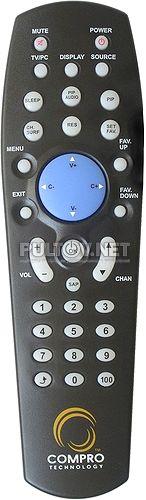 Compro VideoMate V300 пульт ДУ
