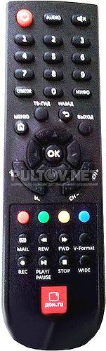 DMT HD 5000 пульт для телевидения Dom.ru