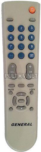 #0092 пульт для телевизора