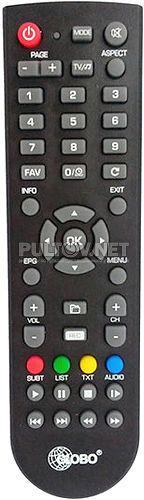 GLOBO GL50 пульт для DVB-T2-ресивера
