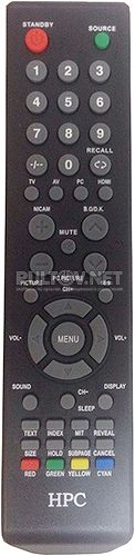 HPC LHS1698 пульт для телевизора HPC