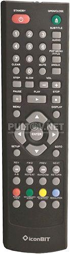 BD300U пульт для медиаплеера IconBit