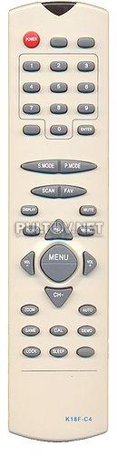 K18F-C4 , AKAI K18F-C100, AVEST K18F-C27 пульт для телевизора