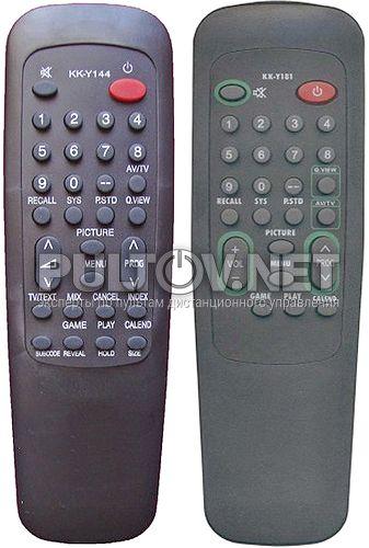 KK-Y181, KK-Y144 пульт для телевизора Konka K1418A и др.