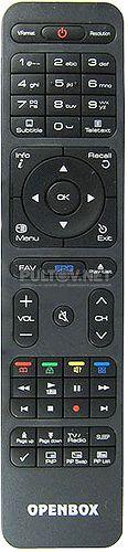 SX4 HD, SX6 HD, HD BOX HB 3500 пульт для спутникового ресивера OPENBOX