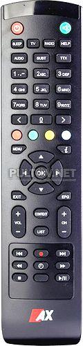 AX HD51 4K UHD Box пульт для спутникового ресивера