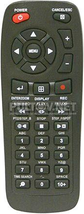 Pinetron PDR-XM3004 пульт для видеорегистротора