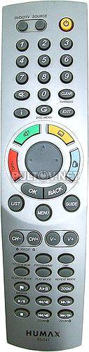 RS-541 пульт ДУ для DVD с ресивером Humax DV-1100S