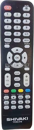YC53-216 пульт для телевизора Shivaki STV-22LED5 и др.