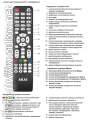 описание кнопок оригинального пульта для телевизора AKAI LEA-32M12