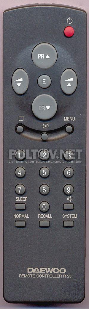 DAEWOO R-25 пульт для