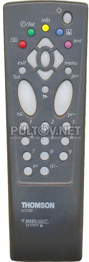 Thomson Rct100 инструкция - фото 11