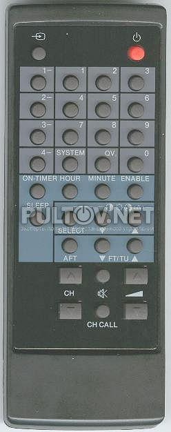 DAEWOO R-9A, DAEWOO R-9 пульт