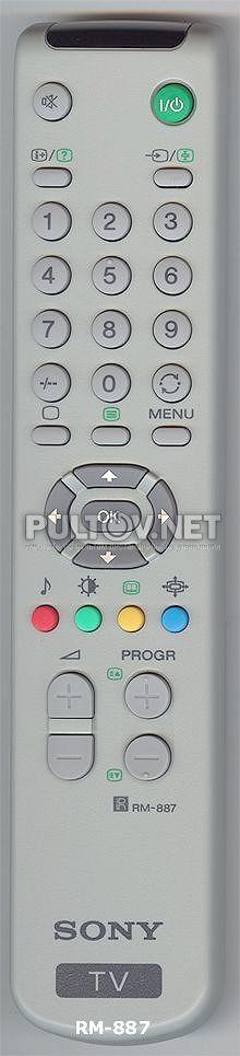 SONY RM-887 оригинальный пульт