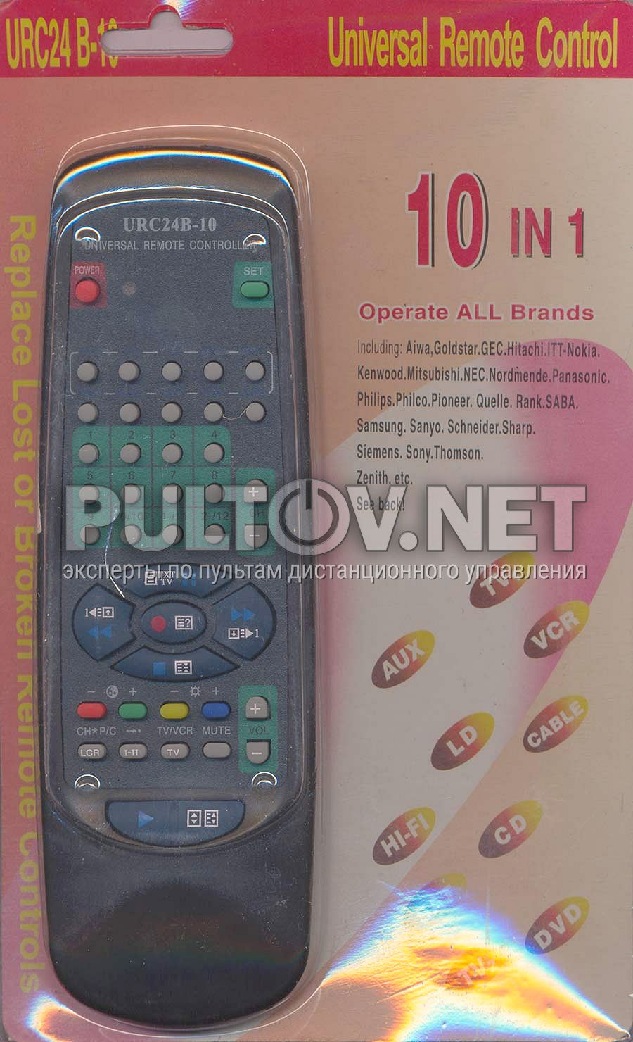 инструкция к пульту dvd remote control 6711r1p070b