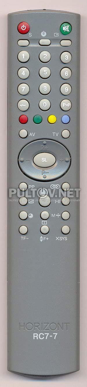 HORIZONT RC-7-7 пульт для