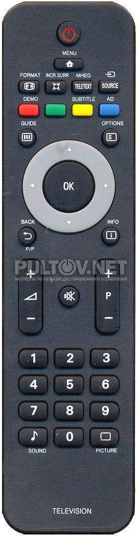 Руководство К Тв Philips 32Pfl 8404.Doc