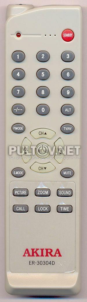 AKIRA ER-30304D пульт для