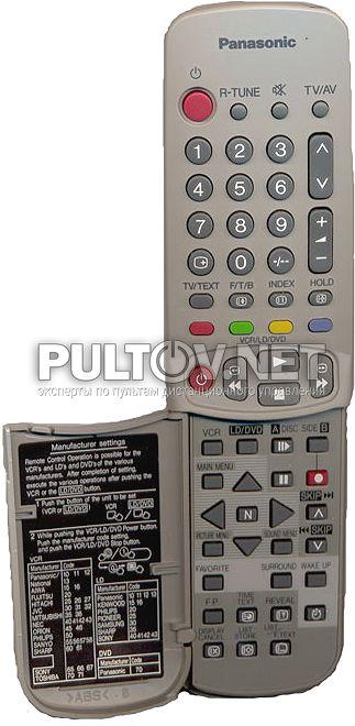 PANASONIC EUR511045 пульт для