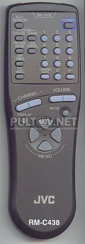 JVC RM-C438 пульт для