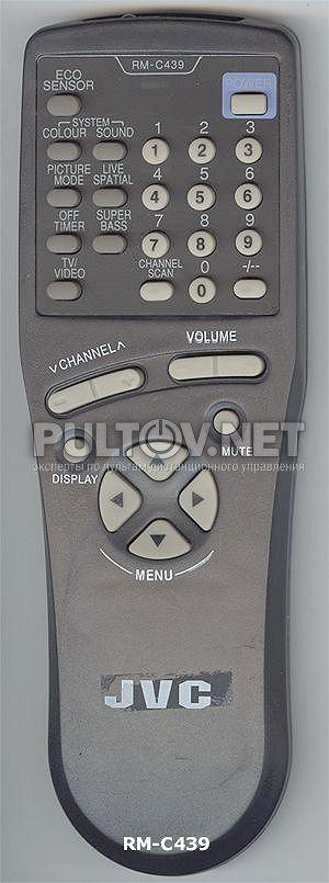 для телевизора JVC RM-C439