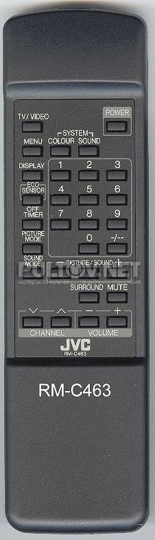 для телевизора JVC RM-C463