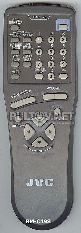 JVC RM-C498 пульт для