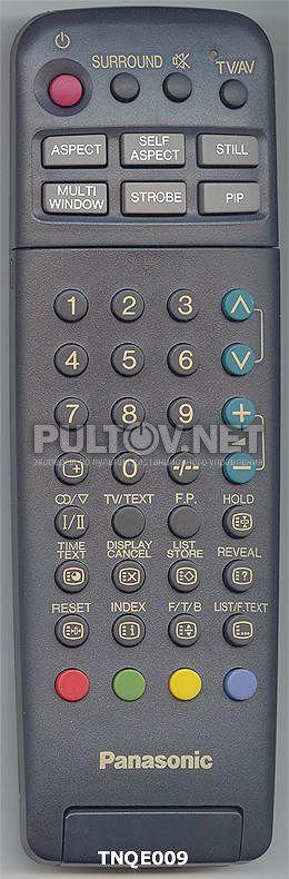 PANASONIC TNQE009 пульт для