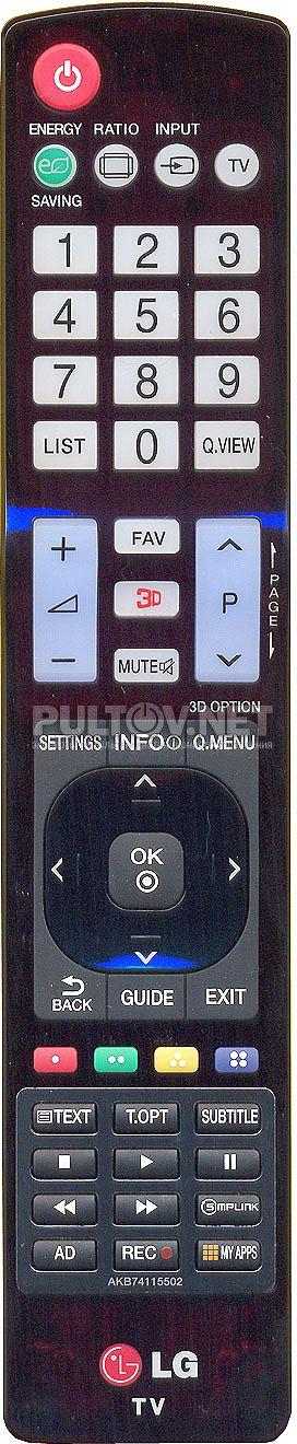 LG AKB74115502 оригинальный