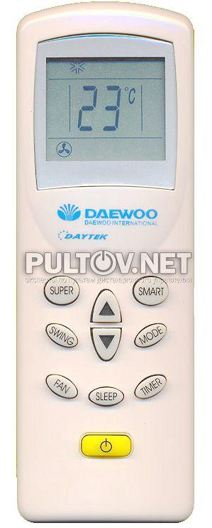 кондиционер Daewoo инструкция к пульту - фото 7