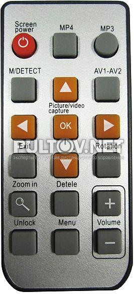 для разной техники / Eplutus EP-2291 пульт для видеодомофона.