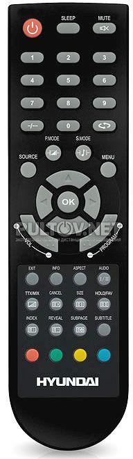 hyundai h-tv2100pf не работает с пульта