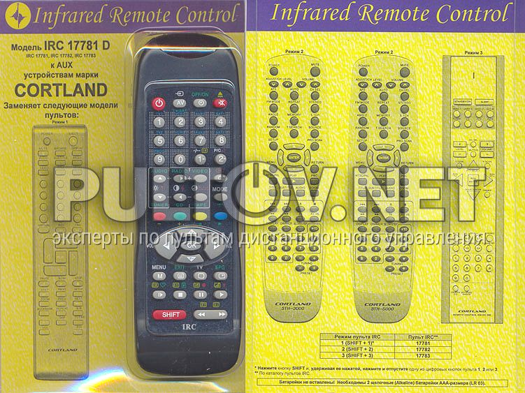 Инструкция cortland sth 3000
