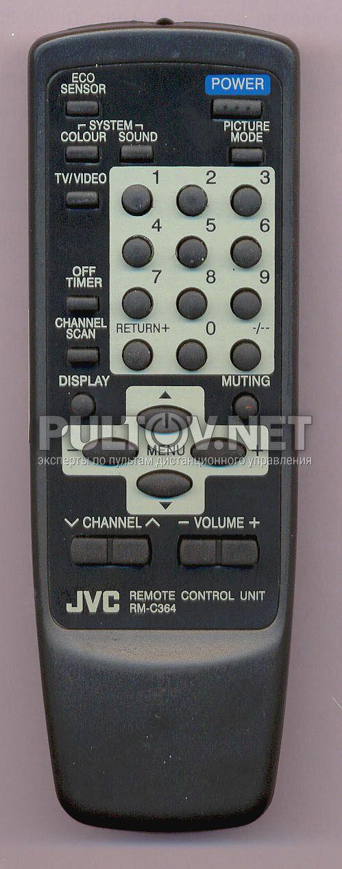 Оригинальный пульт JVC RM-C364