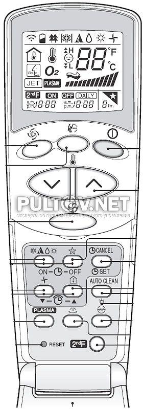инструкция к пульту от кондиционера Lg акв73315607 - фото 10