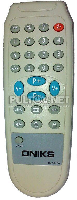 ONIKS Rc01-36 пульт для
