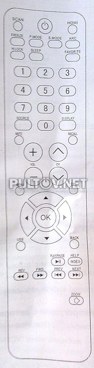 POLAR 48LTV3102 пульт для