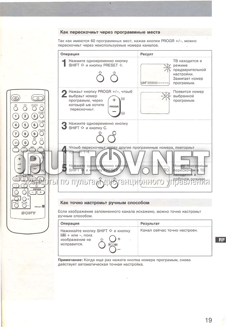 Инструкция телевизора techno