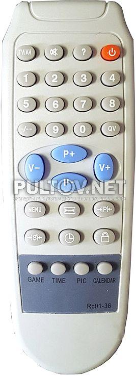 Rc01-36 пульт для телевизора ONIKS