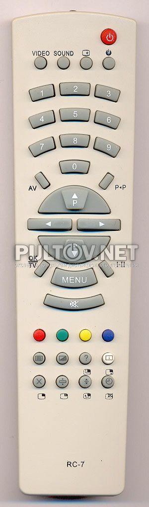 Телевизор рубин rc-7 инструкция