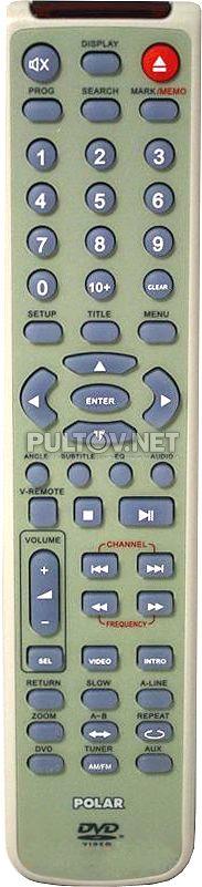 POLAR SJ-0051C пульт ДУ для