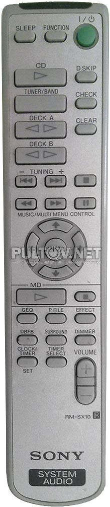 SONY RM-SX10 пульт для