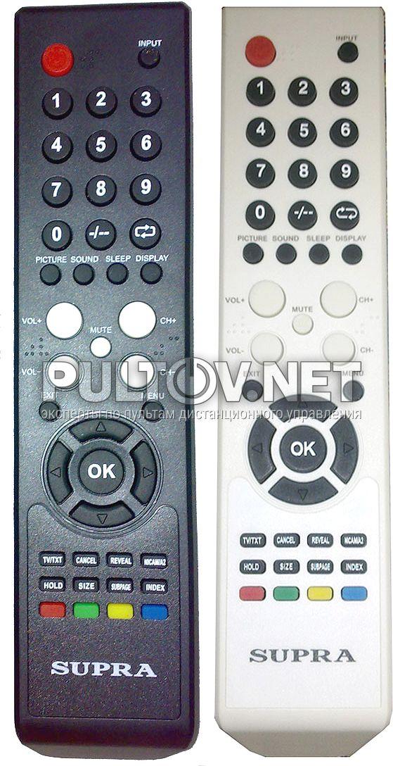 supra rc4b пульт для телевизоров supra и izumi - Пульты ДУ IA410
