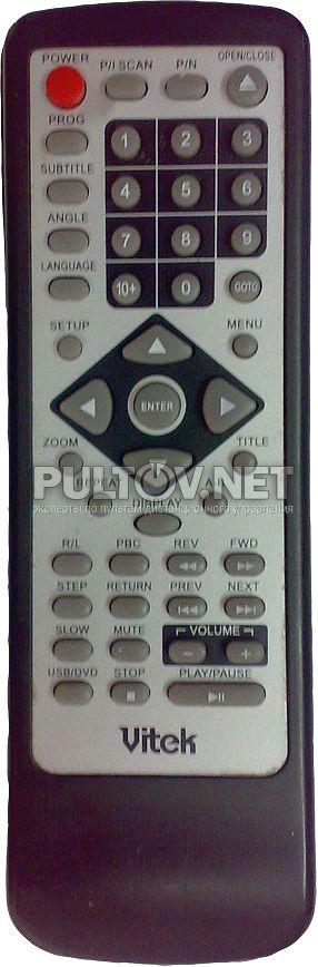 VITEK VT-4004SR пульт для DVD-